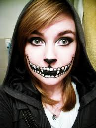 halloween makeup smile how to do cheshire cat smile makeup mugeek vidalondon