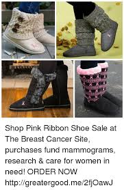 Meme Shoes For Sale - r x 叉 shop pink ribbon shoe sale at the breast cancer site