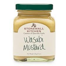 wasabi mustard condiments stonewall kitchen