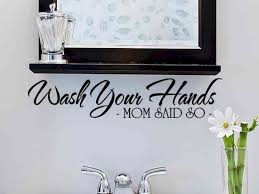 creative wall stickers ideas for decorating your bathroom modern
