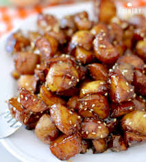 sticky potatoes the country cook