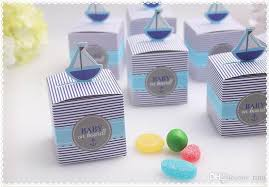 Birthday Favor Boxes by Sailboat Baby Shower Favor Baby Shower Gift Box Baby Birthday Gift