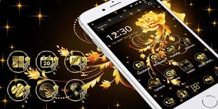 Golden Roses Golden Rose Theme Android Apps On Google Play