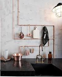 kupferrohre thema küche home pinterest kitchens interiors