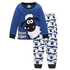hooyi baby boy sleepwear cotton children casual shaun