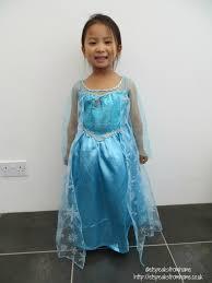 frozen elsa from otley run fancy dress et speaks from home