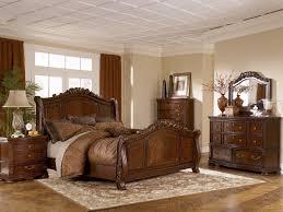 bedroom upholstered king bed frame ashley furniture sleigh bed