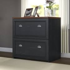 Oak File Cabinet 2 Drawer by Wood Filing Cabinets You U0027ll Love