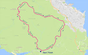 Marin Headlands Map Red Rocket Racing Lone Coyote 8 Mile Dash