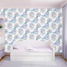 chambre de reine papier peint motifs reine des neiges chambre d enfant papier peint