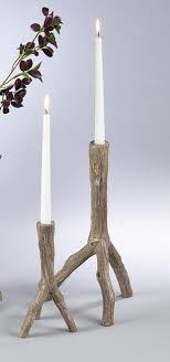 tree branch candle holder candle holders