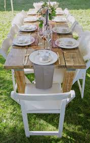 Backyard Baby Shower Ideas Backyard Baby Shower Guest Table Setting Decors Baby Shower