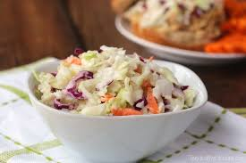 greek yogurt coleslaw two healthy kitchens
