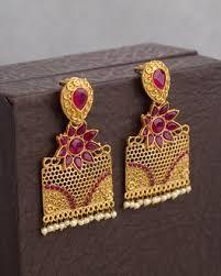 danglers earings buy traditional silver gold danglers earrings for women