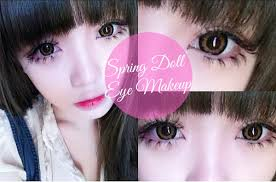 baby doll makeup halloween tutorial spring doll eye makeup youtube