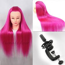 hairstyles to do on manikin 22 hairdressing professional styling head red yaki hair mannequin