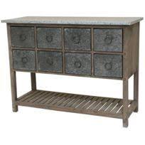 meubles de cuisine en bois meuble cuisine bois zinc achat meuble cuisine bois zinc pas cher