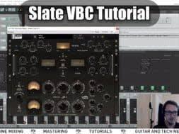 tutorial virtual guitar slate digital vbc virtual buss compressor tutorial hop pole