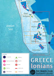 Greece Islands Map by Greek Islands Travel Guide