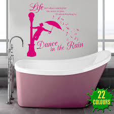 dance in the rain wall stickers u0026 decals