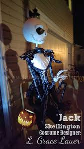 Jack Pumpkin King Halloween Costume Jack Skellington Handmade Costume Nightmare Christmas