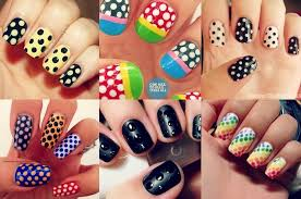 10 simple and cute nail art designs