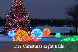 christmas light balls for trees create a winter wonderland with snowflake lights