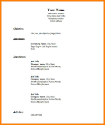 Warehouse Job Titles Resume by 12 Blank Resumes Templates Warehouse Clerk