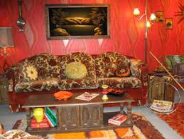 Burnt Orange Shag Rug Museum Celebrates U002770s With Display Of Shag Rugs And Wood