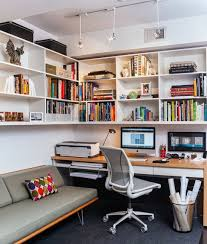 Small Bookshelf Ideas Chic Small Office Bookshelf 8 Small Office Designs You Will Love
