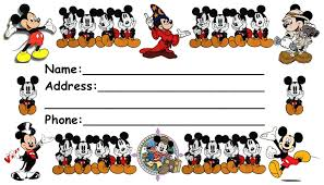 themed luggage tags disney luggage tags page 1 of 3 and print po