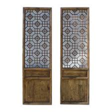 consigned antique chinese wall hanging carved panels screens and