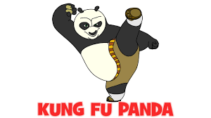 how to draw kung fu panda step by step easy drawing for beginners