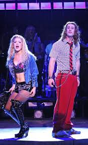how to get hair like sherrie from rock of ages related image rock of ages set pinterest rock