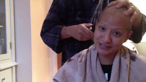 Is Hair Loss A Sign Of Cancer Losing Hair Breast Cancer Patient Loses Hair From Chemotherapy