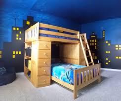 paint your own batman cityscape for your child u0027s bedroom
