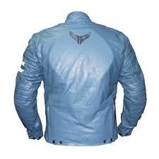 blue motorcycle jacket saiko frankenstein men leather jacket saiko frankenstein men