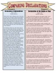Declaration Of Independence Worksheet Answers Comparing The Declaration Of Independence Declaration Of The