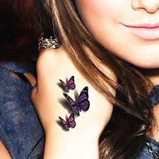 Small Butterfly Tattoos On - 101 butterfly designs to get that charm