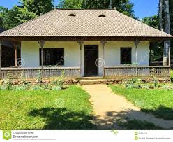 Rustic House Front Porch On Rustic House In Romania Stock Photo Image 56324723