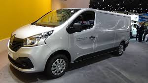 renault trafic 2016 2017 renault trafic x track exterior and interior iaa hannover