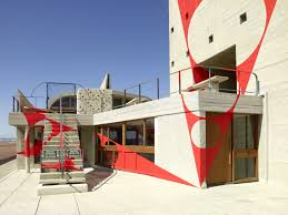 home design concept marseille felice varini adds a vibrant art installation to corbusier u0027s unité