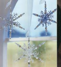 348 best beaded snowflakes images on beaded snowflake