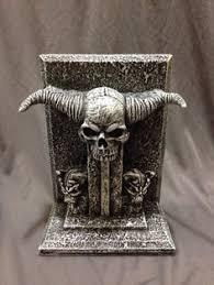 Skull Decor Amazon Com Bellaa Decorative Bookends Dragon Skull Decor Big
