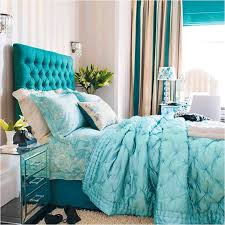 Small Room Curtain Ideas Decorating Bedroom Amusing Bedroom Decorating With Turquoise Headboard And