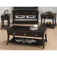 jofran baroque end table jofran double header mobile coffee table set flip tables pinterest
