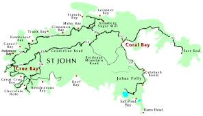 st islands map map of st island major tourist attractions maps