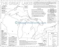 Visited States Map Great Lakes Map Maps For The Classroom