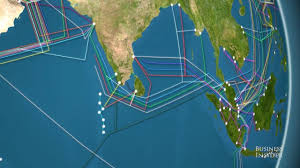 Map The World by Animated Map The World U0027s Undersea Internet Cables Youtube