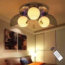 Wohnzimmer Deckenlampe Design Natsen Led Kristall Deckenleuchte Led E27 3 Flammig Deckenlampe
